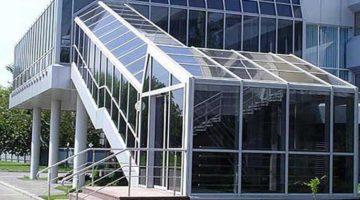 Фасадные алюминиевые конструкции